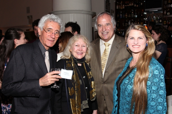 Dick Lopez, Barbara O'Dwyer (Executive Director, Theater at Saint Jeans), Stewart F. Lane, Bonnie Comley