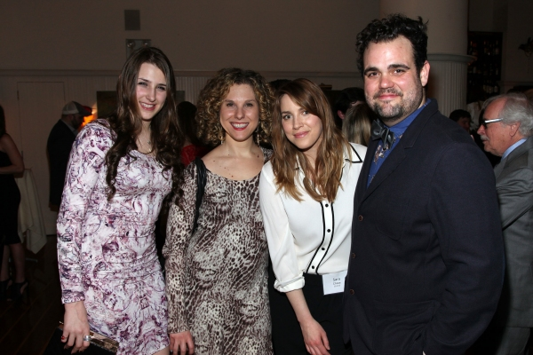 Leah Lane, Elena Heyman, Sara Chase, Greg Hildreth