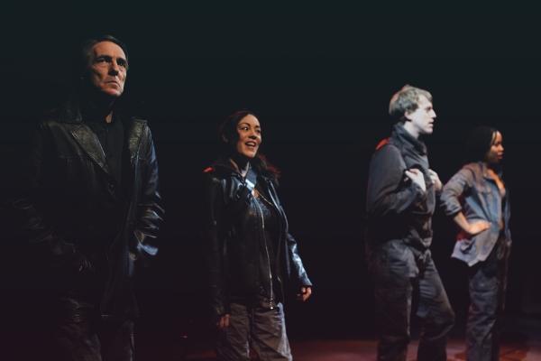 Peter Palmisano, Lisa Vitrano, Steve Brachmann and Danica Riddick Photo