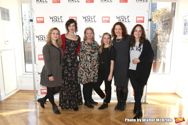 Photo Coverage: It's a British Invasion- Meet the Cast of Broadway's WOLF HALL!