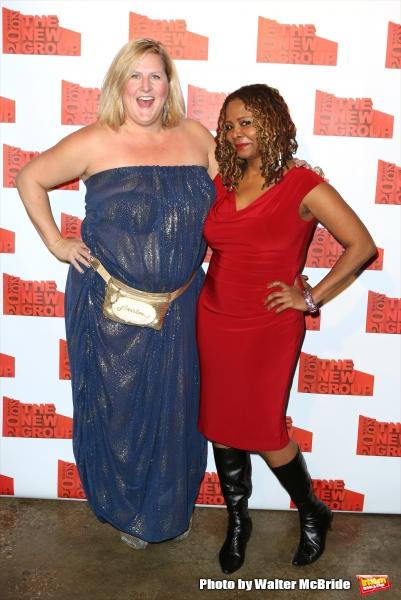 Bridget Everett and Tonya Pinkins
