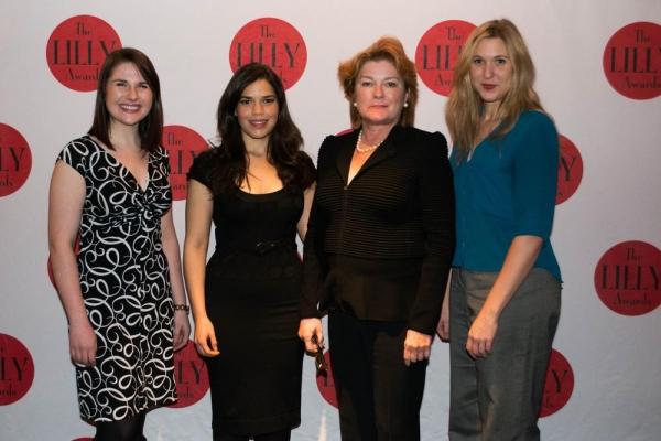 Emily Jeppesen, America Ferrera, Kate Mulgrew, Cassie Beck Photo