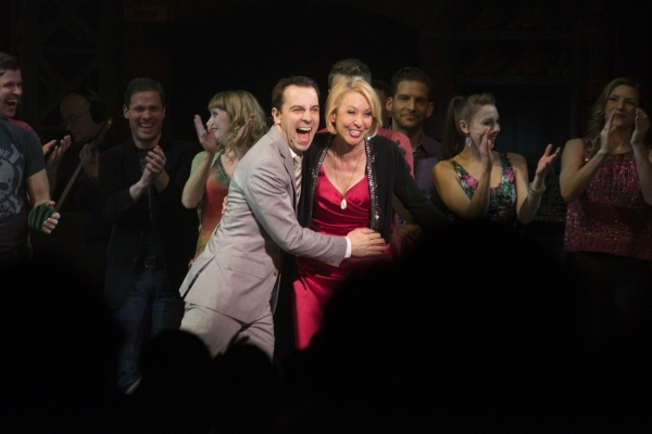 Rob McClure and Julie Halston