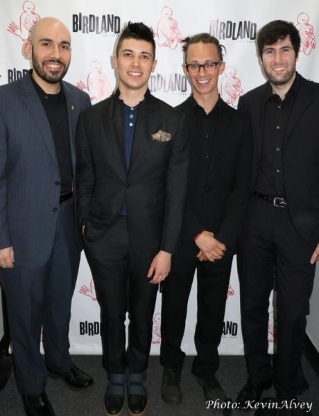 Angelo DiLoreto, Trevor McQueen, Philippe Lemm and Jeff Koch