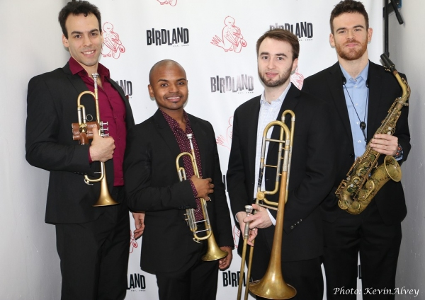 Jonathan Saraga, Alphonso Horne, Nick Grinder and Andrew Gould Photo