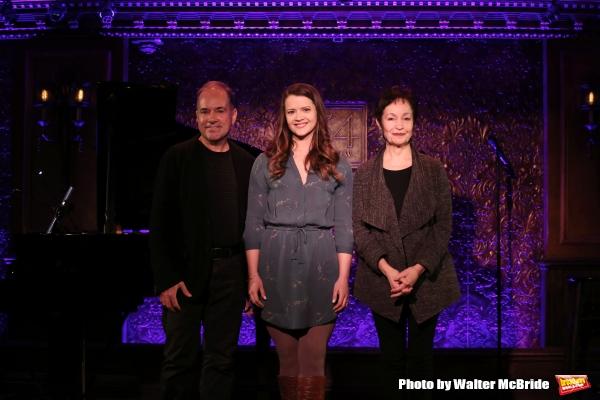 Stephen Flaherty, Rose Hemingway and Lynn Ahrens