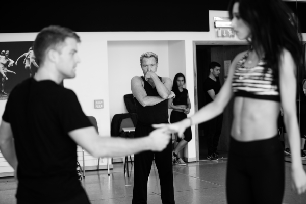 James Keegan, Michael Flatley and Aimee Black