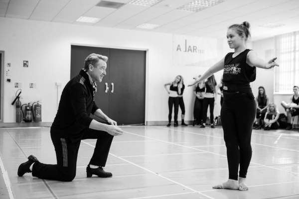 Michael Flatley and Alice Upcott