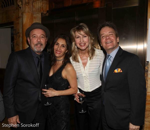 Ruben Blades, Barbara Fasano, Luba Mason, Eric Comstock Photo