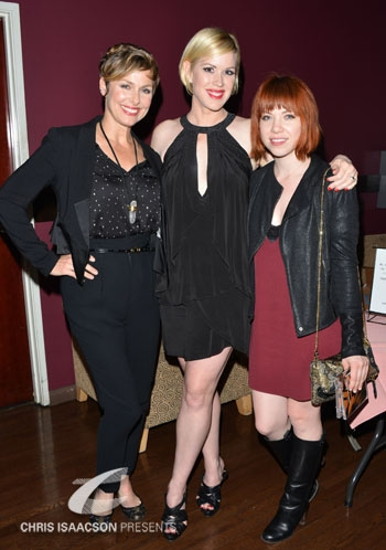 Melora Hardin, Molly Ringwald and Carly Rae Jepsen