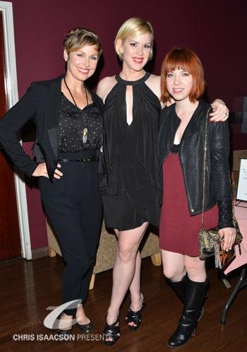 Melora Hardin, Molly Ringwald and Carly Rae Jepsen