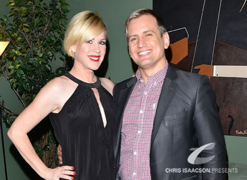Molly Ringwald and Chris Isaacson