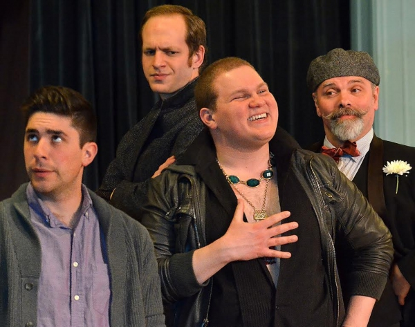 Andrew Iacovelli, Nathanael Lee, Jonathan Fisher, and Roger Lemelin  Photo