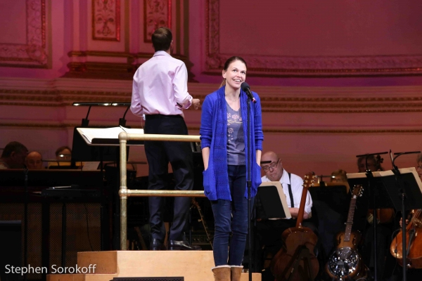 Photo Coverage: In Rehearsal for the New York Pops with Sutton Foster!