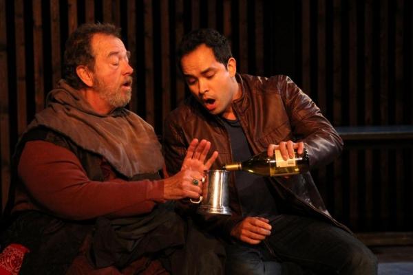 Gregory Itzin and Ramón de Ocampo