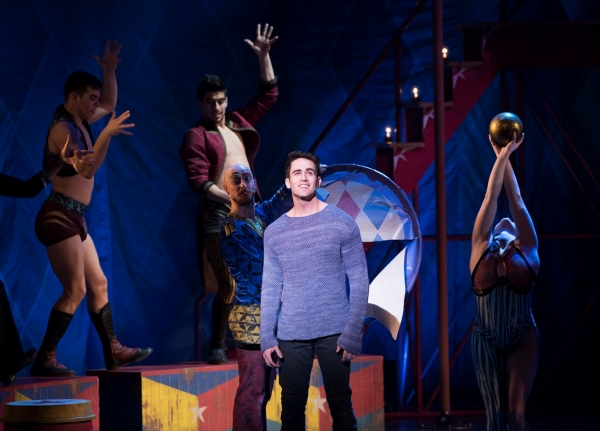 Photo Flash: Sam Lips Takes Over as Title Character in PIPPIN National Tour - First Look!