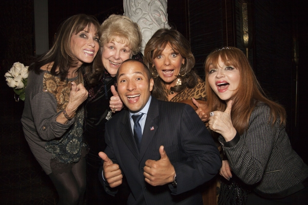 Kate Linder, Mary Jo Catlett, Christopher Landavazo, Dawn Wells and Judy Tenuta
