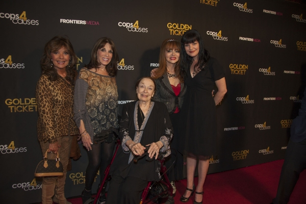 Dawn Wells, Kate Linder, Patricia Morison, Judy Tenuta and Pauley Perrette