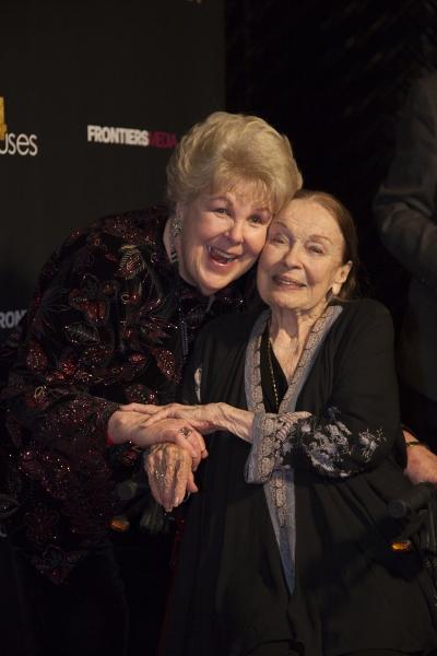 Mary Jo Catlett and Patricia Morison