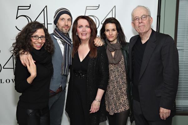 Jamie Leonhart, Michael Leonhart, Maureen McGovern, Carolyn Leonhart and Jay Leonhart Photo