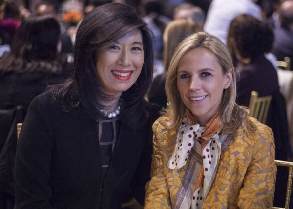 Andrea Jung and Tory Burch