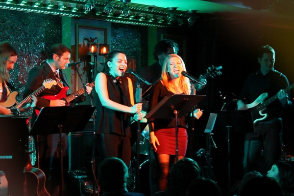 Sara Kapner and Kasie Gasparini sing 'Let's Away'