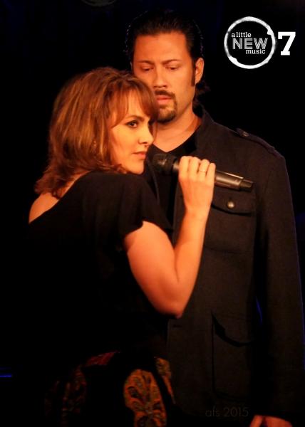 Robin DeLano and Jason Marquez duet dramatically on 'Baila Conmigo' from Richard Castle and Rosino Serrano's future-set LA CARMEN.