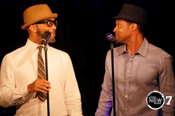 Continuing the sneak preview of RECORDED IN HOLLYWOOD, Rahsaan Patterson and Stu James sing Andy Cooper's 'Let's Go Shoppin'.