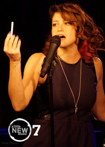 Emcee Jordan Kai Burnett steps into the spotlight to sing Sam Salmond's 'Cigarette' from UNCOOL: THE PARTY.