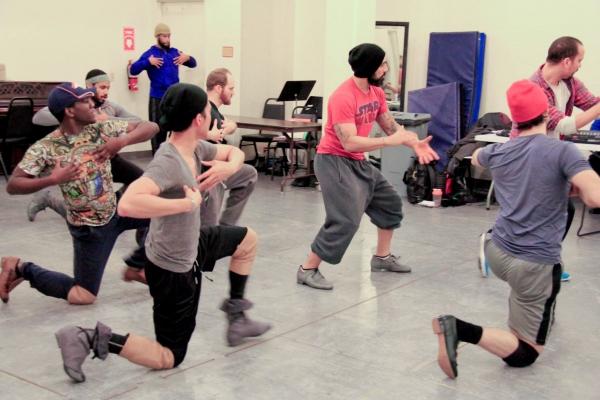 Choreographer Marcos Santana and Company