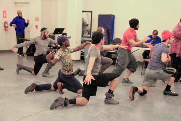 Choreographer Marcos Santana and Company