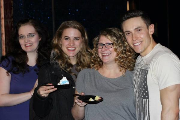 Amber Petty, Chloe Williamson, Ashley Ward and Alec Varcas