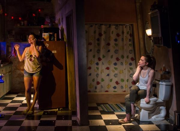 Natascia Diaz (Adrienne) and Jessica Hershberg