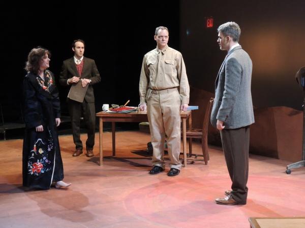 Amelia Mathews, Josh DOucette, Hugh Sinclair and Jordan Kaplan Photo