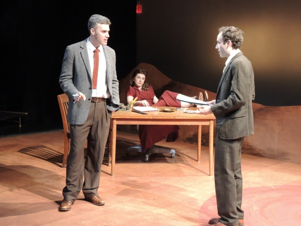 Photo Flash: First Look at Red Fern Theatre's IRREVERSIBLE at the 14th Street Y