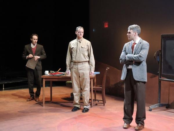 Josh Doucette, Hugh Sinclair and Jordan Kaplan
