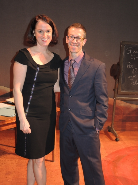 IRREVERSIBLE director Melanie Moyer Williams and playwright Jack Karp