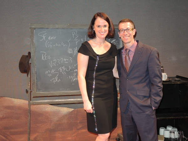 IRREVERSIBLE director Melanie Moyer Williams and playwright Jack Karp Photo
