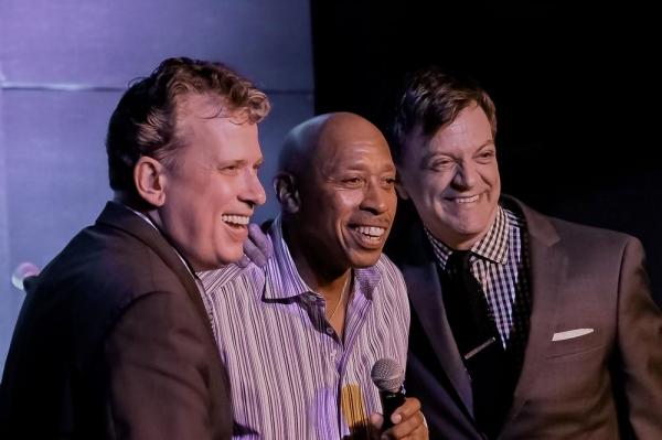 Billy Stritch, Jeffrey Osborne and Jim Caruso