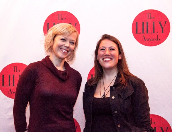 Emily Bergl and Madeline Sayet