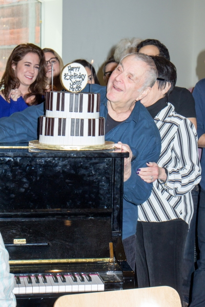 Photo Coverage: John Kander Celebrates 88th Birthday With the Cast of THE VISIT