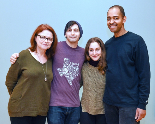 Photo Flash: In Rehearsal with Kindling Theater's LEAVE ME GREEN at The Gym at Judson