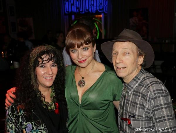 Barbara Siegel, Maxine Linehan and Scott Siegel