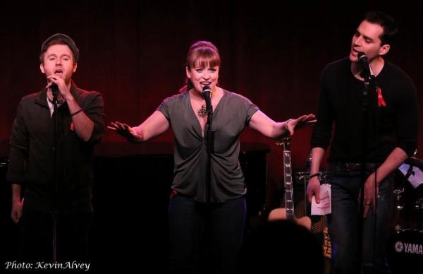 Jeremy Morse, Maxine Linehan and Ryan Silverman
