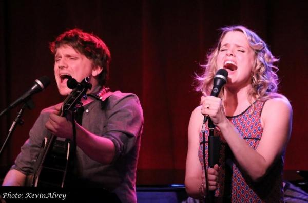 Adam Cochran and Amy Spanger