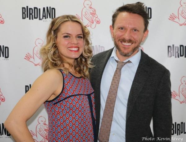 Amy Spanger and Kris Kukul