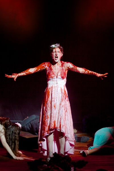 Photo Flash: First Look at New Immersive Production of CARRIE THE MUSICAL - Emily Lopez, Misty Cotton & More!