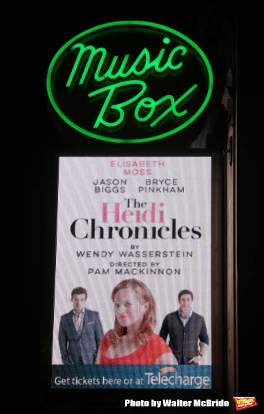 Photo Coverage: Elisabeth Moss & Cast of THE HEIDI CHRONICLES Take Opening Night Bows!
