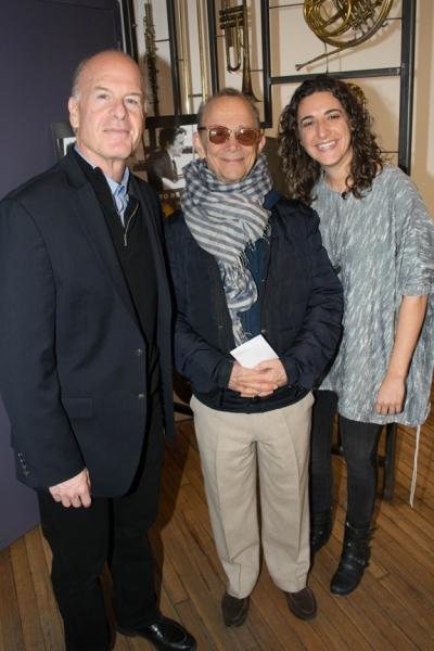 Robert Kraft, Eva Price, Joel Grey