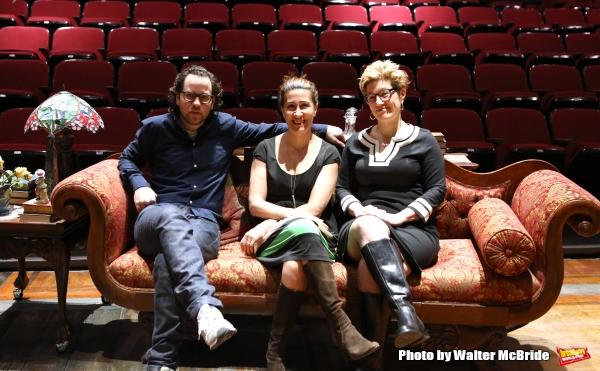 Sam Gold, Jeanine Tesori and Lisa Kron